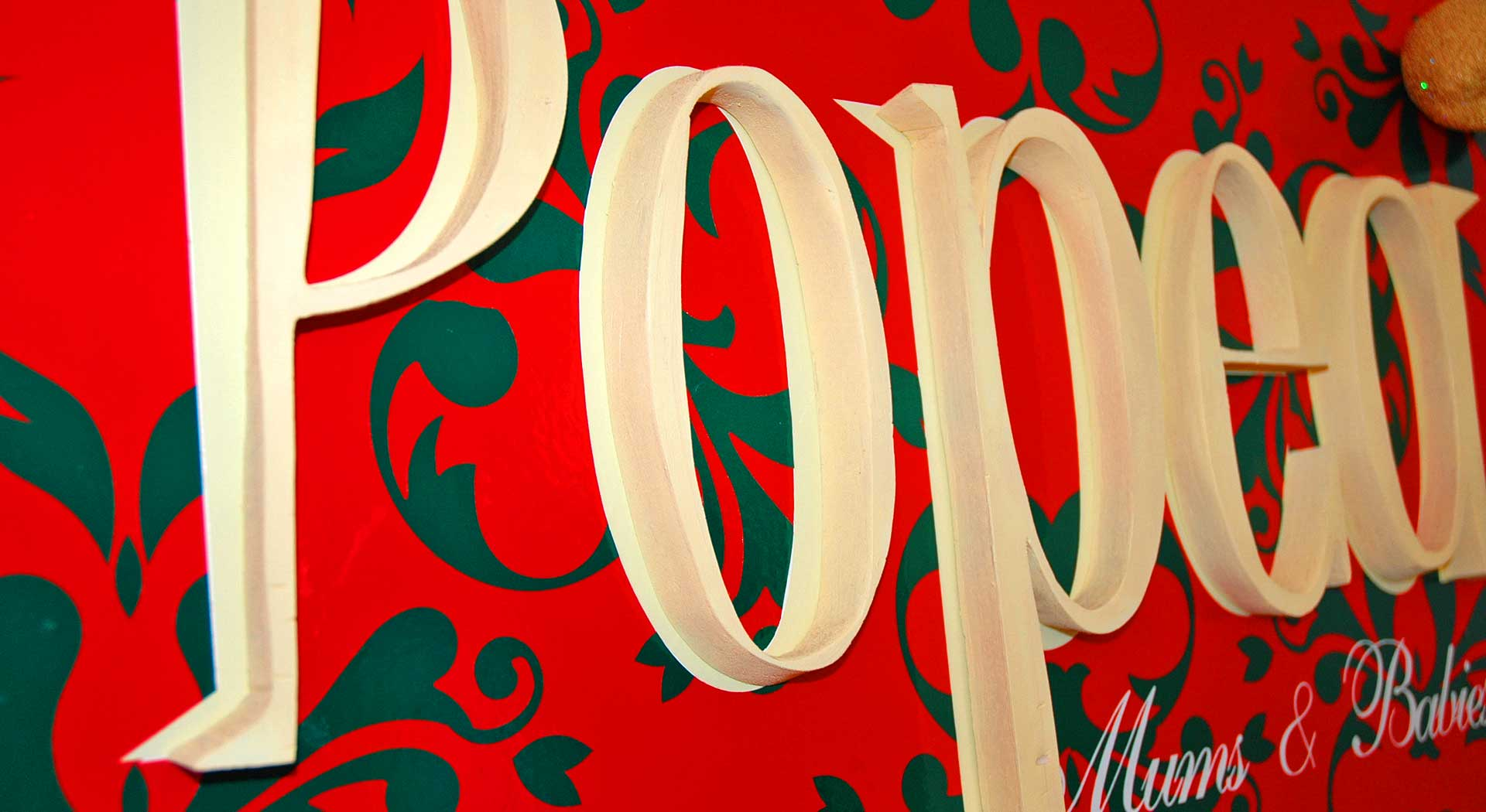 carteles de polyfan en bariloche