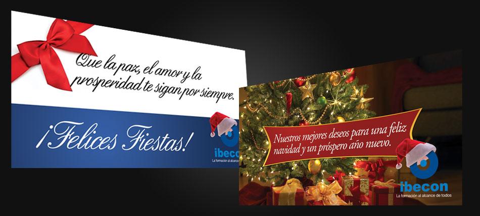Postales navidenas para enviar por correo electronico