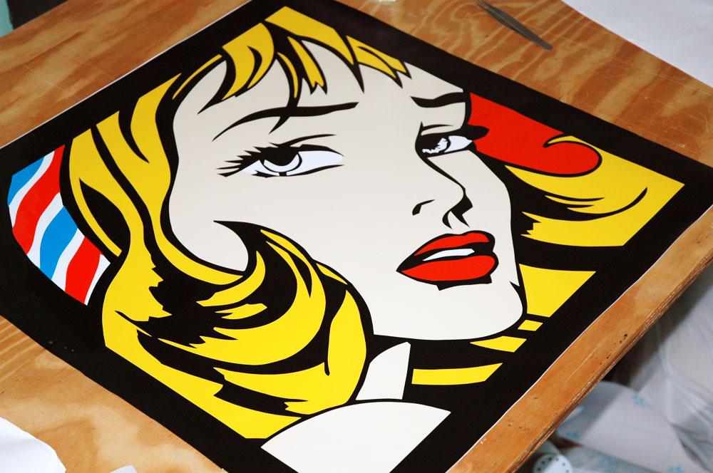 Pop art r plicas de roy lichtenstein menta - Pop art roy lichtenstein obras ...